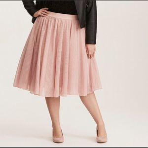 Torrid Mesh Tulle Skirt